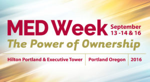 MED Week 2016 - The Power of Ownership